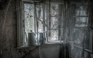 window interior curtains dark ruins decay 1080px wallpaperup wallpapers sign log