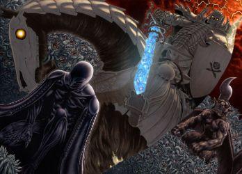 Berserk Manga dark fantasy wallpaper 1949x1400 118836 WallpaperUP
