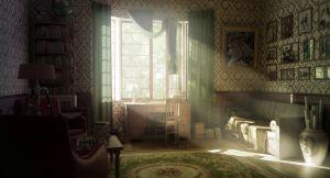 interior window retro sunlight wallpapers sun warm rays render decorating walls june log dog wallpaperup android