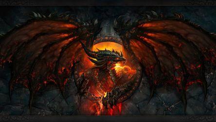 Video Game World Of Warcraft fire dragon wallpaper 1920x1080 582615 WallpaperUP