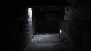 scary creepy dark horror wallpapers evil spooky tunnel background monochrome desktop gothic backgrounds darknes digital artworks lg display chevron right