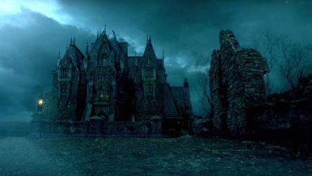 CRIMSON PEAK drama fantasy darl horror gothic 1crimp romance ghost supernatural halloween castle wallpaper 1600x900 824804 WallpaperUP