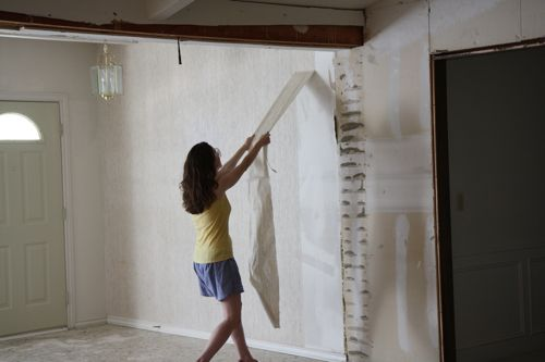 3d Brick Embossed Wallpaper Prep Walls With Shellac Before Hanging Wallpaper