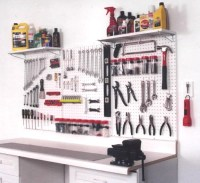 Garage Organization Ideas  Garage Pegboard Organization ...