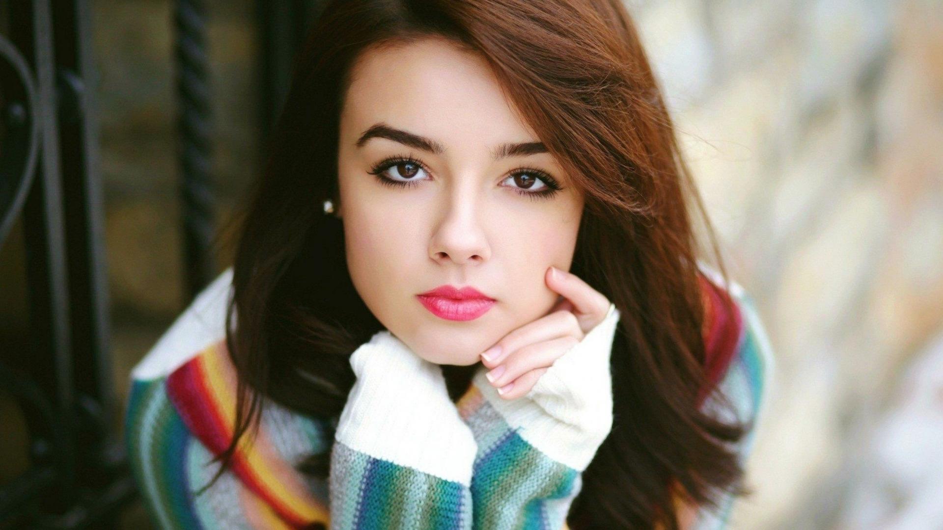 Description: Cute Girl is a hi res Wallpaper for pc desktops,laptops