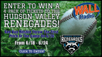 Win Tickets To The Hudson Valley Renegades