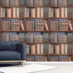 books repeating wallsauce murals install delivery mural
