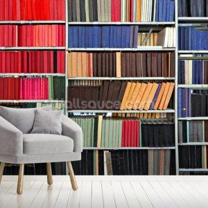 library mural colourful wall murals wallsauce install shipping