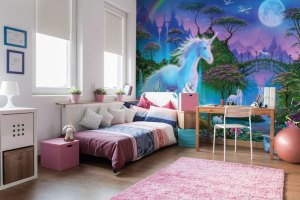 unicorn bedroom magical decorations mystical unicorns wallsauce walls completely decoration believe framed hanging quotes boss landscape