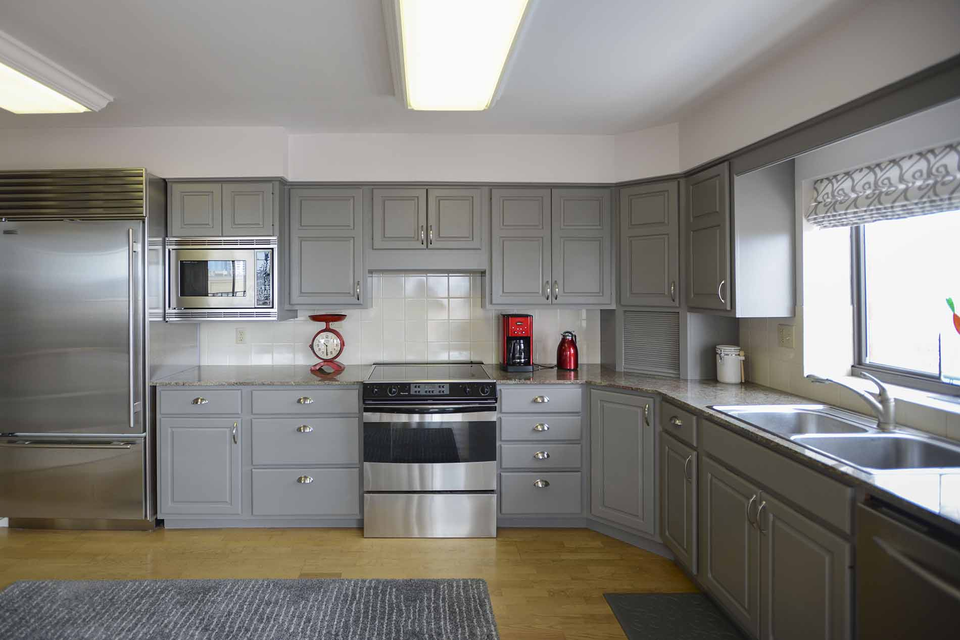Painting Kitchen Cabinets White  Denver Paint Contractor