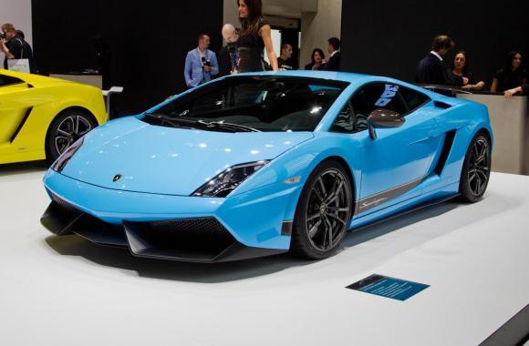 Blue 2013 Lamborghini Gallardo lP 560 4 HD Wallpapers Pics Gallery