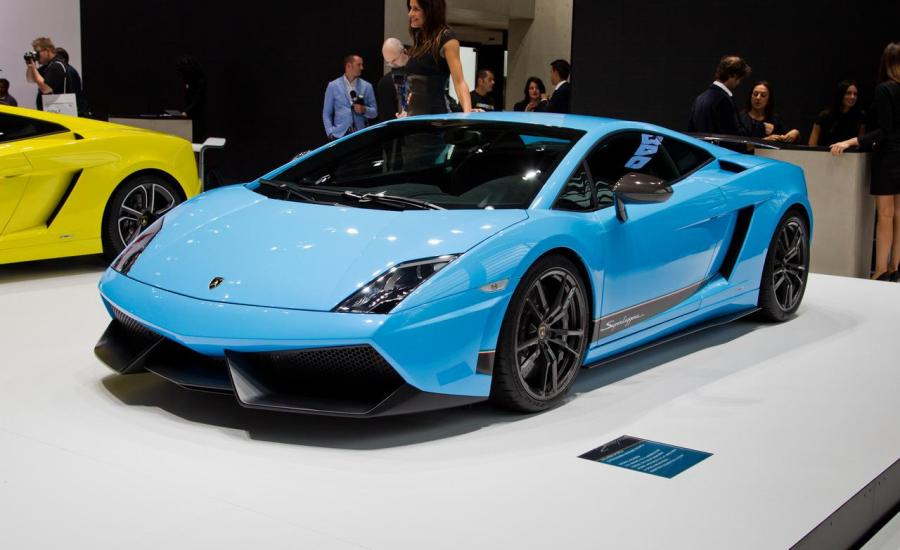 Blue 2013 Lamborghini Gallardo lP 560 4 HD Wallpapers Pics Gallery
