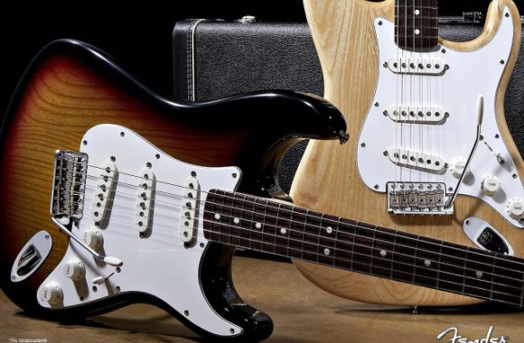 Fender 1970 Stratocaster Guitar Wallpaper Image