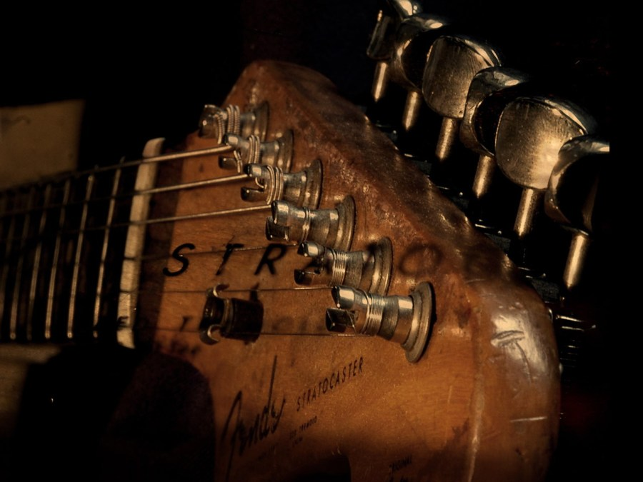 Guitar Wallpaper Old Stratocaster Great Guitar Sound