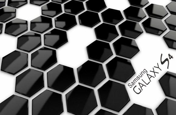 Black White 3D Wallpaper Desktop Samsung Galaxy S4