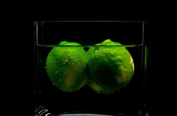 3D Green Lemons Wallpaper For Android Free Download