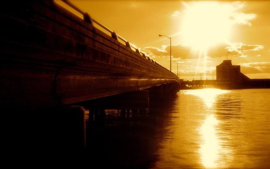 City Bridge 3D Desktop HD Wallpaper Photo Picture Free