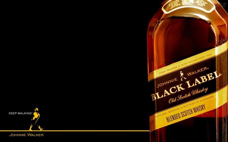 Johnnie Walker Black Label Whisky Wallpaper Background