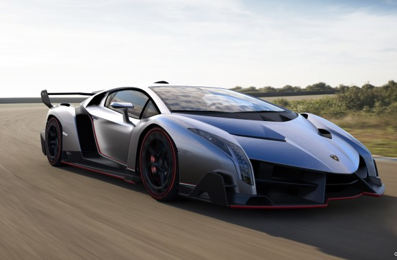 Awesome 2013 Lamborghini Veneno HD Wallpaper Free