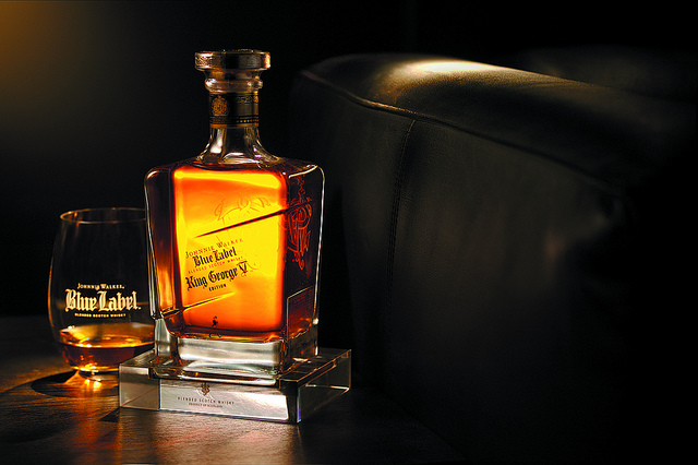 Super Deluxe Johnnie Walker Blue Label Alcohol Drink Picture