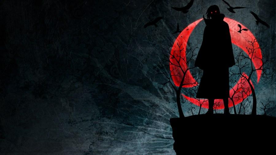 Naruto Shippuden Anime Itachi Uchina HD Wallpaper