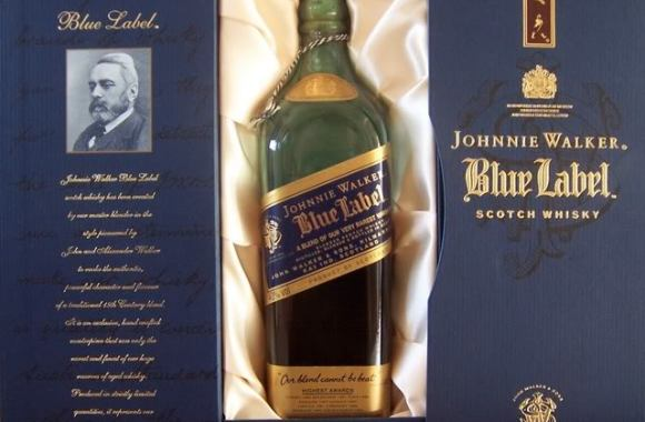 Johnnie Walker Blue Label Graphics Code Photo Picture