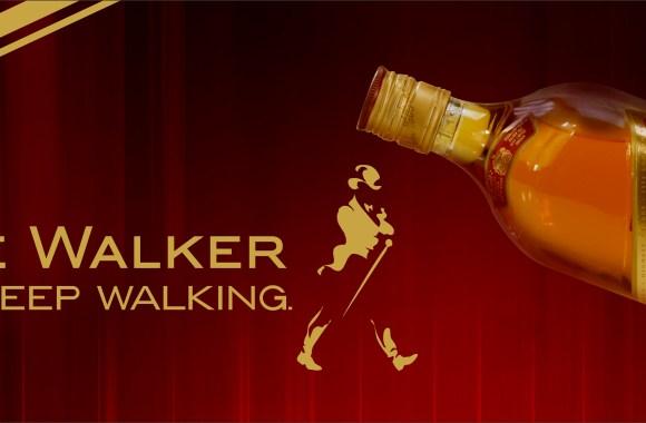 Johnnie Walker Keep Walking Logo HD Wallpaper Picture