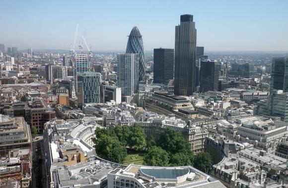 Modern City At London England Photo HD Wallpaper Free