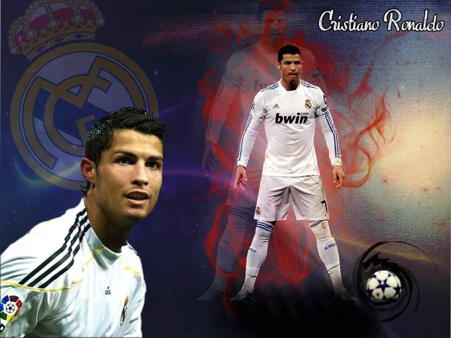 Cristiano Ronaldo Real Madrid Player 2013 HD Wallpaper Background