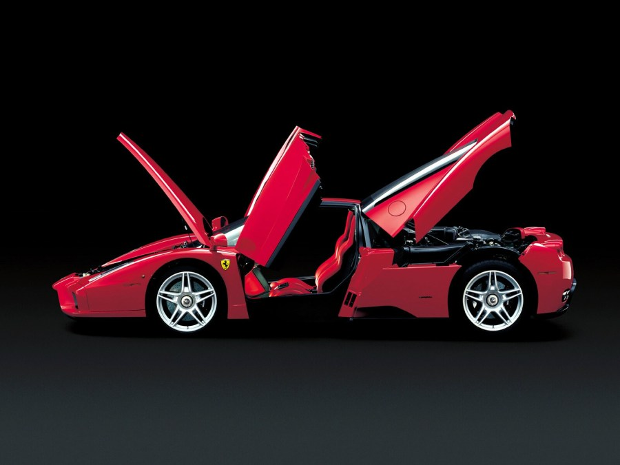 Ferrari Enzo Fast Car Automotif HD Wallpaper For PC Computer