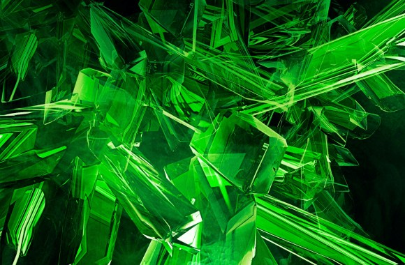 Image Green View Abstract Gems Cool HD Wallpapers