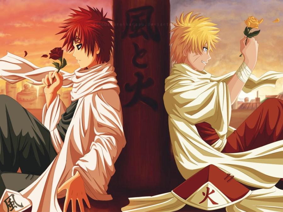 Naruto Versus Gaara Pictures HD Wallpapers In Anime Manga