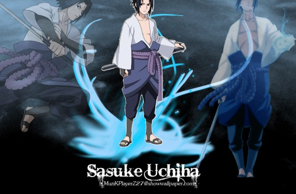 Sasuke Uchiha Anime Manga Wallpapers HD Widewcreen For Desktop