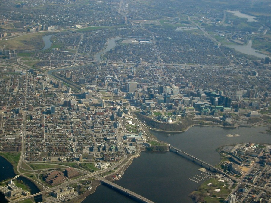 Aerial View Of Ottawa Travel Photos Picture And HD Wallpaper