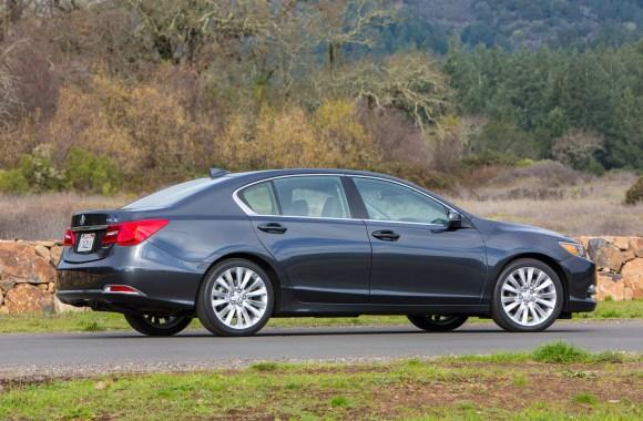 2014 Acura RLX Rear Three Quarters Photo On The Street Free Download