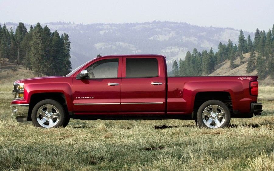 All New 2014 Chevrolet Silverado Red Color Photo And Picture Sharing