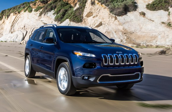 2014 Jeep Cherokee Limited Front Three Quarter Photo Free Download