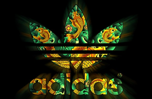 Adidas Logo And Font Wallpaper HD Widescreen For Your PC Computer