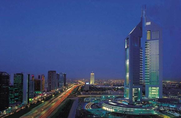 Dubai City When Night Wallpaper HD Widescreen For PC Desktop