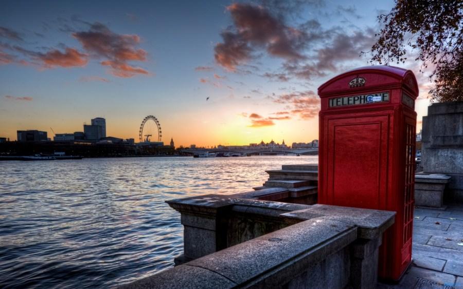 London Telephone Booth HD Wallpaper Desktop Picture Widescreen