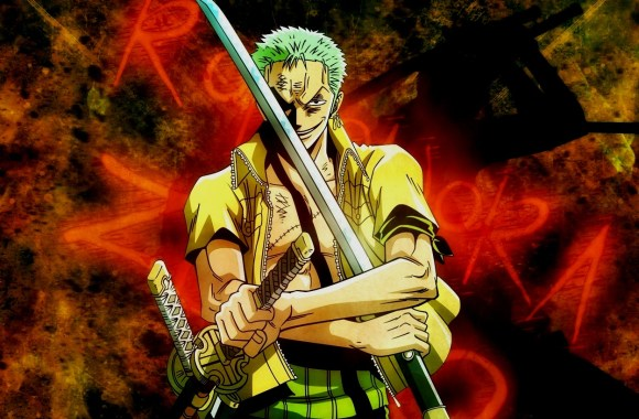 Roronoa Zoro And The Swords One Piece Picture Widescreen HD Wallpaper