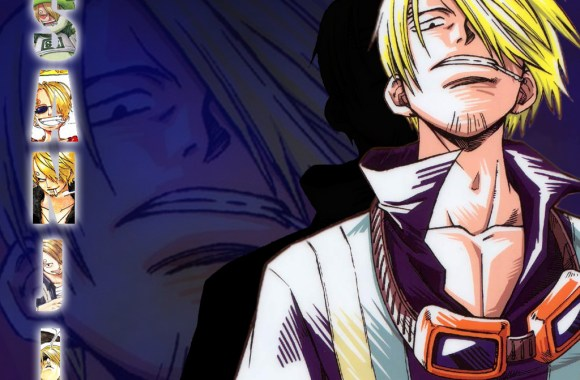 Awesome Sanji One Piece Anime Wallpaper HD Widescreen For PC Computer