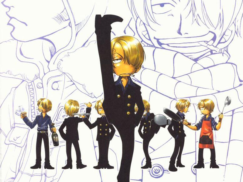 Sanji Black Legs Crew Of Straw Hat One Piece Anime Manga Picture Image