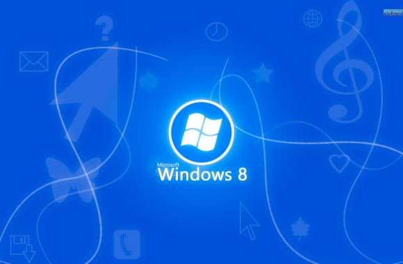 Blue Windows 8 HD Wallpaper Image Background For PC Desktop