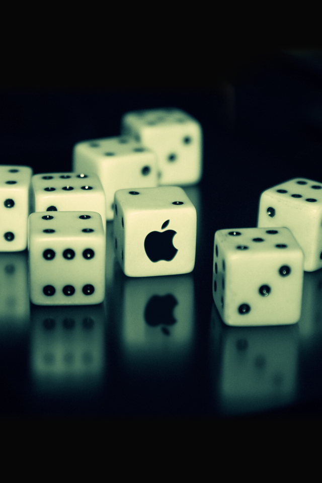 Top Best Apple Logo Dice HD Wallpapers For Your iPhone Or iPod Touch