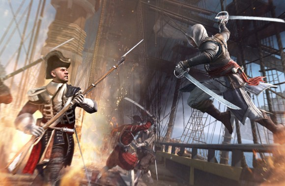 Assassin's Creed 4 Swashbuckling Game HD Wallpaper Free Download