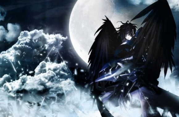Dark Angel When New Moon Anime HD Wallpaper Picture Image