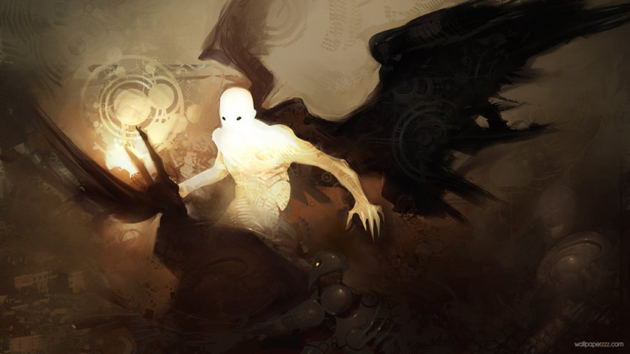 Amazing Demon Light Picture Image HD Wallpaper Free Download
