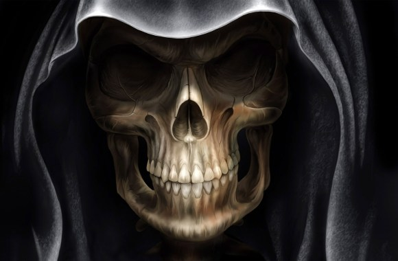 Demon Alien Devil Skull HD Wallpaper Picture Widescreen For PC Desktop