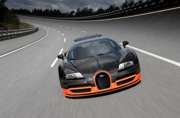 Bugatti Veyron 16 4 Super Sport Looks Ahead Picture HD Wallpaper